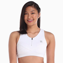 Elite Bra in White by Strength Activewear
