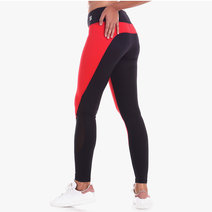 Cuore Legging in Black/Red by Strength Activewear