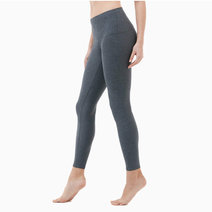 Yoga Pants High-Waist Tummy Control in Charcoal by Tesla