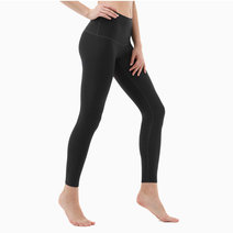 Yoga Pants High-Waist Tummy Control in Black by Tesla