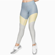 Cover springs legging in blue quartz dandelion maple