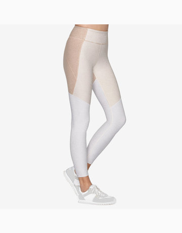 7/8 Tri-Tone Legging in Desert/Oatmeal/Cloud by Outdoor Voices