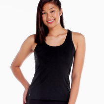 Power Tank in Black by Uvit Activewear