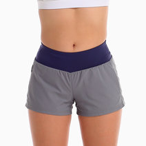 Hustle Shorts in Silver Gray by Uvit Activewear