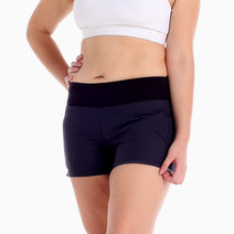Hustle Shorts in Black by Uvit Activewear