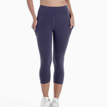Freedom Tights in Midnight Violet by Uvit Activewear