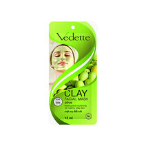 Clay Facial Mask Olive by Vedette