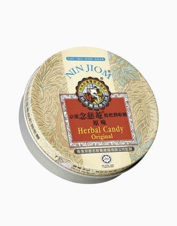 Herbal Candy Lozenges Original Tin (60g) by Nin Jiom