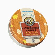Nin jiom herbal candy lozenges tangerine lemon tin 60g