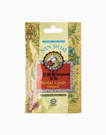 Herbal Candy Lozenges Pouch Original (20g) by Nin Jiom