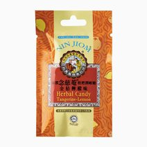 Herbal Candy Lozenges Pouch Tangerine Lemon (20g) by Nin Jiom