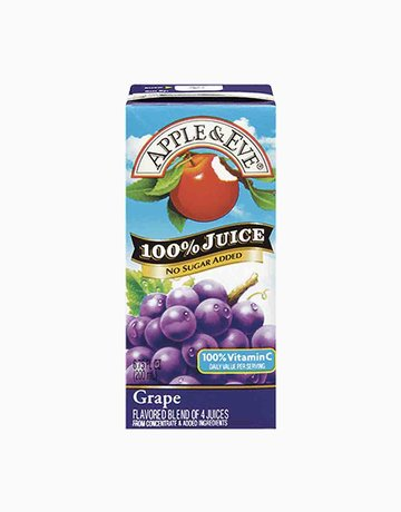 100% Juice Grape (200ml) by Apple & Eve