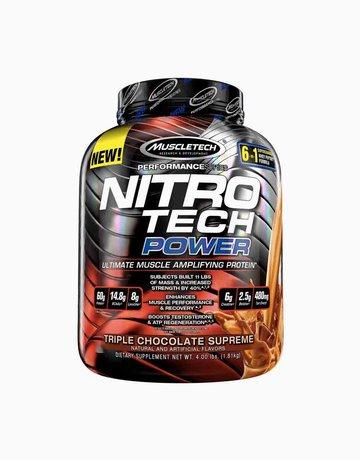 Nitro Tech Power Triple Chocolate Supreme  by Muscle Tech