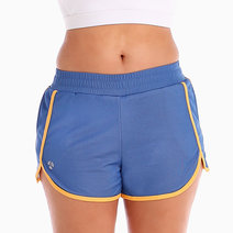 Ayukie Running Shorts in Blue and Yellow by Atsui