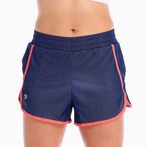 Akane Running Shorts in Navy Blue and Pink by Atsui