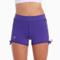 Hiroki Training Shorts in Purple by Atsui