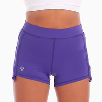Hiroki Training Shorts in Purple by Atsui