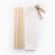 Bamboo Drinking Straw Set of 3 by The Simple Trade