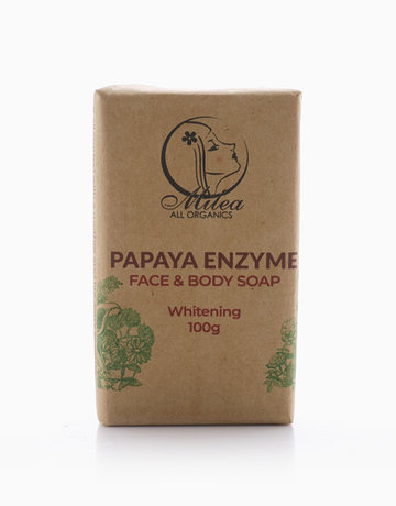 Papaya Enzyme Soap (100g) by Milea