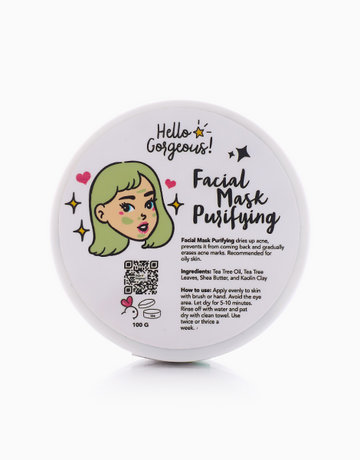 Purifying Facial Mask by Hello Gorgeous
