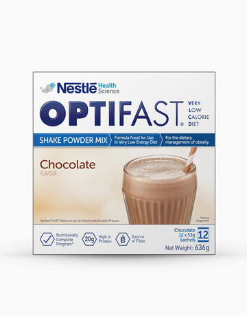 Optifast Very Low Calorie Diet Chocolate Milk Shake 12 Sachets X