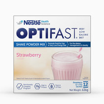 Optifast Very Low Calorie Diet Strawberry Milk Shake (12 Sachets x 53g) by Optifast