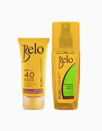 Belo SunExpert Face Cover SPF40 PA+++ + FREE Hair & Scalp Shield by Belo