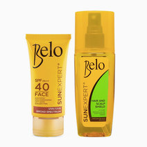 Belo SunExpert Face Cover SPF40 PA+++ + FREE Hair & Scalp Shield by Belo