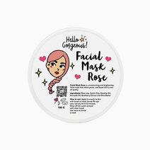 Hellogorgeous rose facial mask