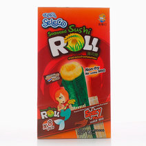 Spicy Sushi Roll Crispy Seaweed With Rice Snack (1 Box) by Seleco