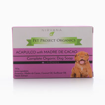 Organic Dog Soap: Acapulco with Madre de Cacao in Lavender by Pet Project Organics