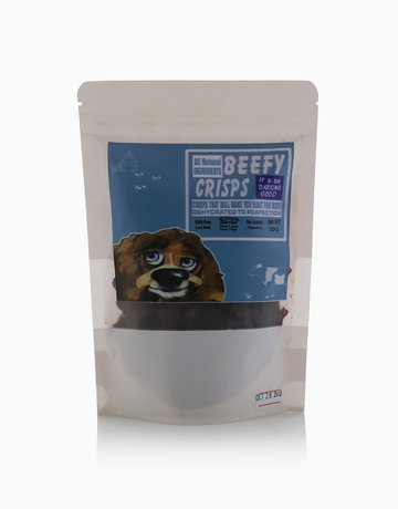 Beef Heart Crisps by Dogapetreat