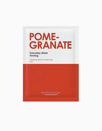 Pomegranate Everyday Mask by Boom De Ah Dah