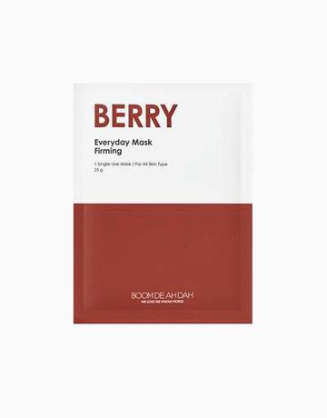 Berry Everyday Mask by Boom De Ah Dah