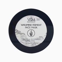 Wakamine Ferment Purifying & Brightening Face MaskWakamine Ferment Face Mask by V&M Naturals in