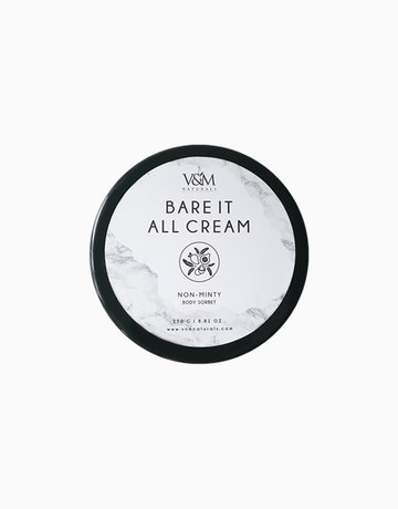 Bare It All Non-Minty (250g) by V&M Naturals