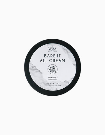 Bare It All Non-Minty (100g) by V&M Naturals