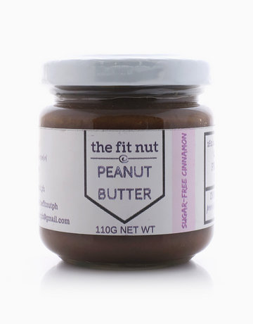 Sugar-Free Cinnamon Peanut Butter Sampler Size (110g) by The Fit Nut PH