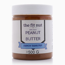 Regular Sugar-Free Crunchy Peanut Butter (500g) by The Fit Nut PH