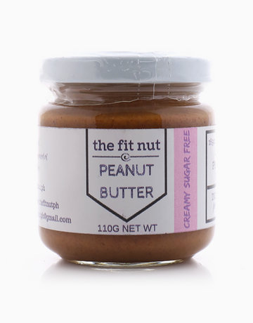Regular Sugar-Free Creamy Peanut Butter Sampler Size (110g) by The Fit Nut PH