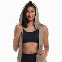 Olive Cover Up Vest by AVA Athletica