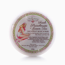 Decadent Body Scrub by Beauty Bakery in Fresh Strawberries + Green Tea