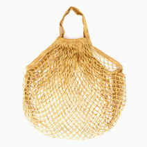 Mustard Mesh Tote by Gubby and Hammy in