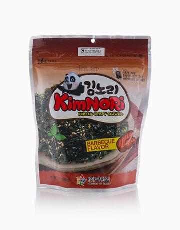 Korean Crispy Seaweed Barbeque Flavor  by Kimnori