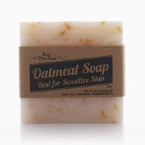 Precious Nature's Oatmeal Soap for Sensitive Skin (90g) by Precious Herbal Pillow
