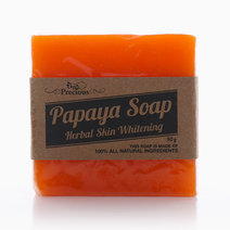 Precious Papaya Whitening Herbal Soap (90g) by Precious Herbal Pillow