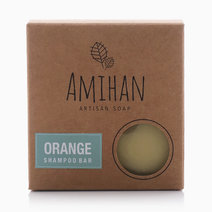 Orange Shampoo Bar by Amihan Organics