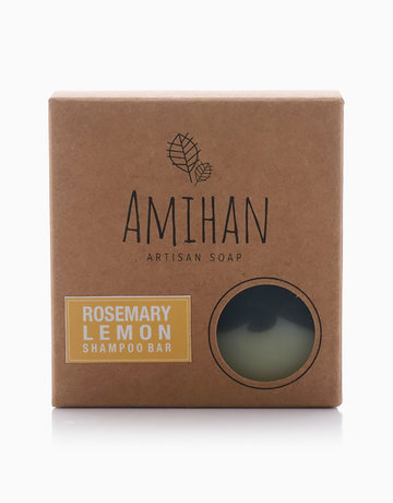 Rosemary with Lemon Shampoo Bar by Amihan Organics