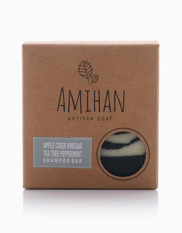 Tea Tree with Peppermint ACV Shampoo Bar by Amihan Organics