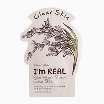 Tonymoly i am rice sheet mask (brightening)